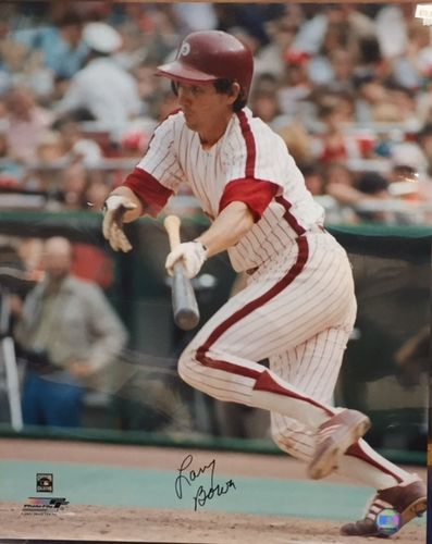 Philadelphia Phillies Larry Bowa Autograph 16x20 Photo