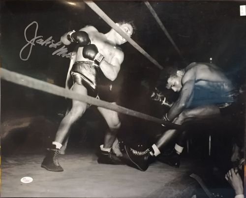 Jake LaMotta Autograph 16x20 Photo