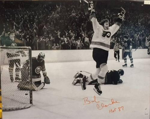 Philadelphia Flyers Bob Clarke Autograph 16x20 Photo