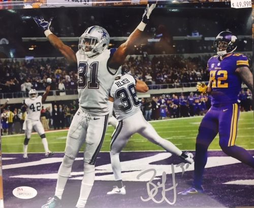 Dallas Cowboys Byron Jones Autographed 8x10 Photo