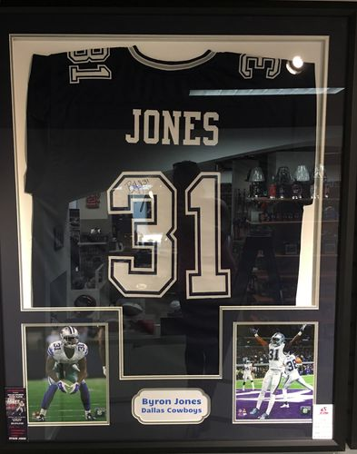 Byron Jones Signed Autographed Jersey
