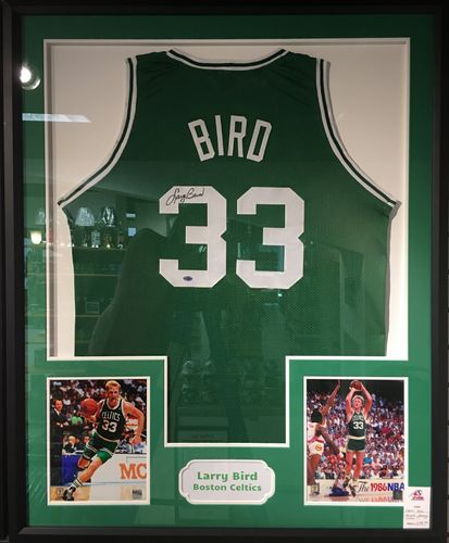 Larry Bird Autographed Jersey