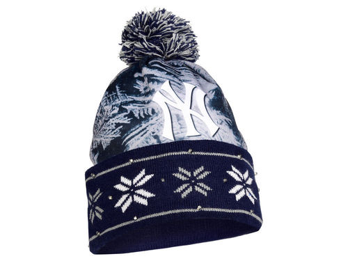 New York Yankees Light Up Beanie